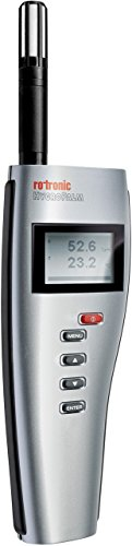Rotronic HygroPalm 21 Relative Humidity/Temperature Measuring Instrument, Silver - 1