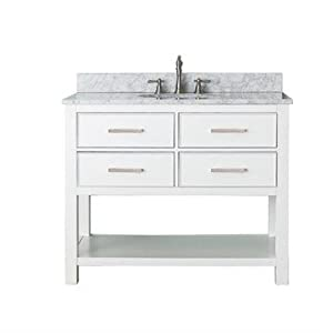 Model 42 Inch Single Sink Modern Dark Cherry Bathroom Vanity With Choice Of