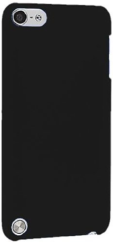 Black Ultra Thin Snap-On Hard Back Cover Case for Apple iPod Touch 5th Generation 5G 5