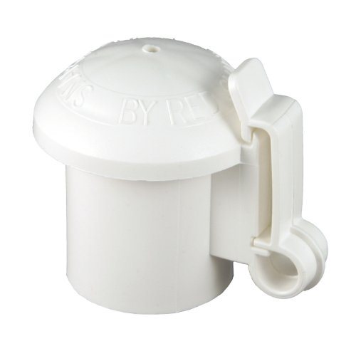 Red Snap'R Itcpw-Rs T-Post Safety Cap And Insulator, White