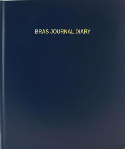 BookFactory® Bras Journal Diary - 120 Page,