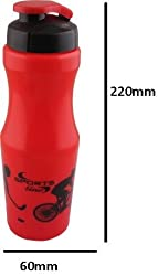Classic Water Bottle - Red 750 ml
