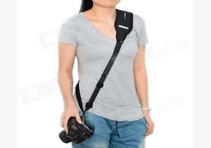 Generic Camera Strap Sling Strap Caden Black Carry Speed For Camera And DSLR