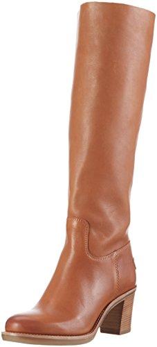 Shabbies Amsterdam SWO03.250113b.020421 - Stivali alti con imbottitura leggera Donna, colore Marrone (curry), taglia 38 EU