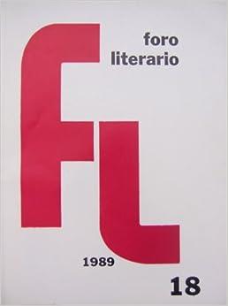 Foro Literario (XI:18): Julio Ricci: Amazon.com: Books