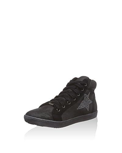 La Strada Sneaker Alta [Nero]
