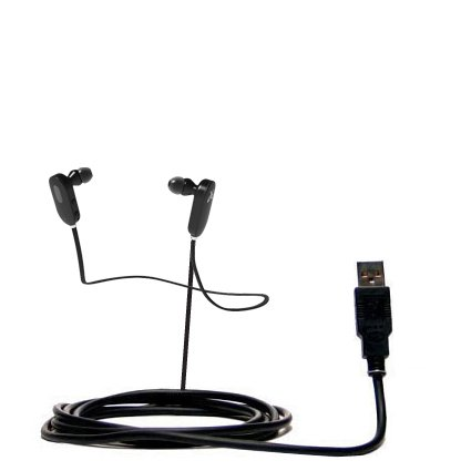 Hot Sync And Charge Straight Usb Cable For The Jaybird Jf3 Freedom - Charge And Data Sync With The Same Cable. Built With Gomadic Tipexchange Technology