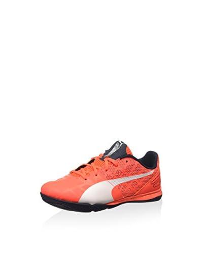 Puma Zapatillas de fútbol evoSPEED Sala 3.4 Jr Naranja