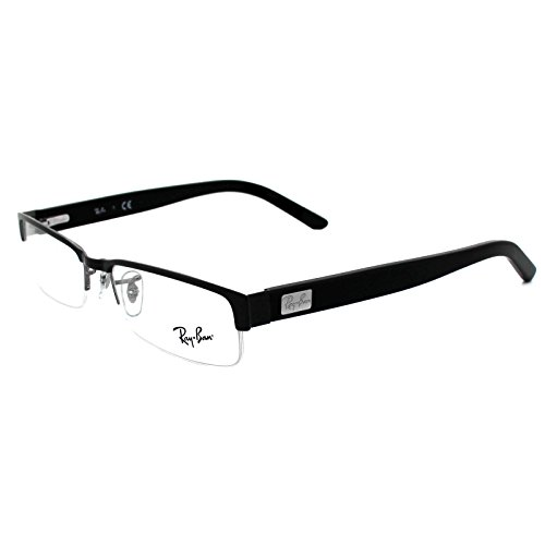 ray-ban-optical-mens-rx6182-black-frame-metal-eyeglasses-53mm