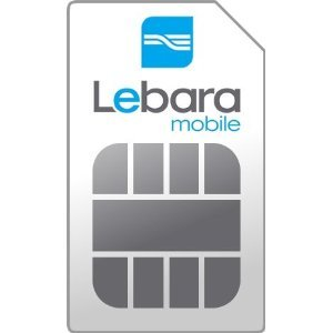 Carte SIM Lebara (Pays-Bas) - 15,00 Euro de crédit appels inclus - Numéro des Pays-Bas