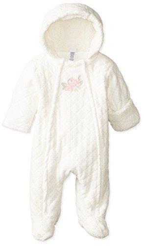 Little Me Baby-Boys Newborn Chateau Rose Pram, Ivory/Pink, 3-6 Months
