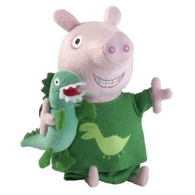 Peppa Pig: Talking Bedtime George Pig Doll Toy