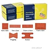 REL516 Dependaplast Fabric Plasters assorted box of 100.