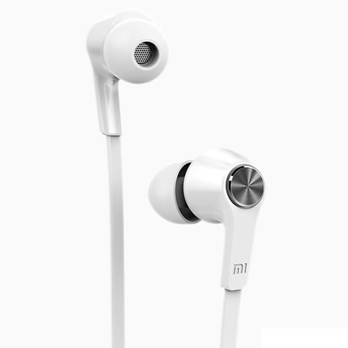 Stereo Earphone with Mic White Original XIAOMI Piston Earphone Youth Edition 3.5mm