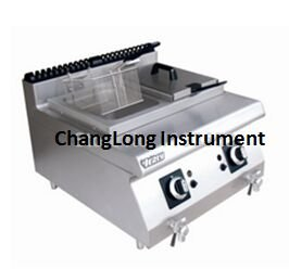 Changlong instrument® TGF-8 Gas Desktop fryer
