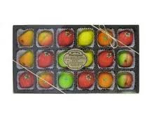 Bergen Marzipan - Assorted Fruit Shapes (18pcs.)