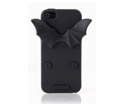 Great Sale [stre-it! Helsinki] NEW 'Devil-it!' Black Jelly Case (TPU) for Apple iPhone 5