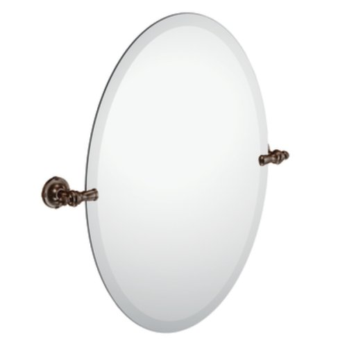 Moen DN0892ORB Gilcrest Mirror With Pivoting Decorative Hardware, Oil Rubbed Bronze