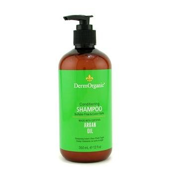 Argan Oil Sulfate-Free & Color-Safe Conditioning Shampoo - DermOrganic - Hair Care - 350ml/12oz