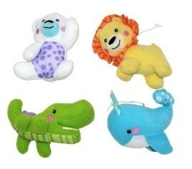 Fisher Price Precious Planet 2-in-1 Projection Mobile - Replacement Hanging Toy Animals - 1