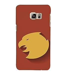 EPICCASE Eagle Logo Mobile Back Case Cover For Samsung Galaxy Note 5 Edge (Designer Case)