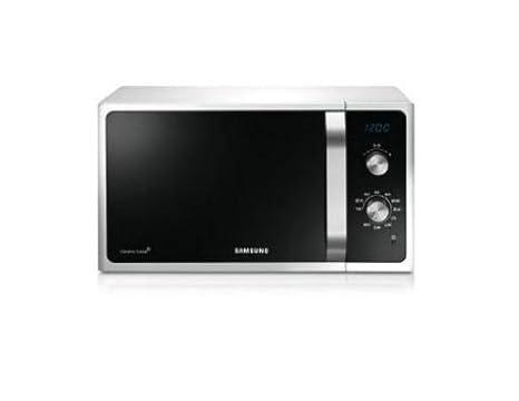 Samsung - mg23f301eaw/ef - Four à micro-ondes + grill 23l 1200w