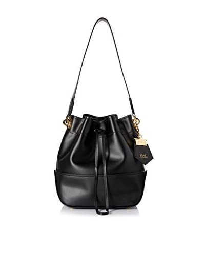 ZAC Zac Posen Women's Eartha Envelope Drawstring, Black