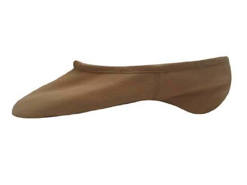 "Child ""Pump"" Canvas Split-Sole Ballet Slipper,S0277Gpnk12.0B,Pink,12.0B front-541728"
