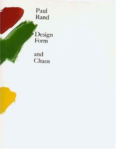 Design, Form, and Chaos (0300055536)