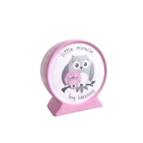 Enesco Life is A Gift Ispgg-bank-pink