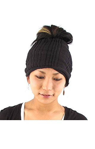 Casualbox mens headband Neck Warmer Japanese Hair Accessory Sports Black