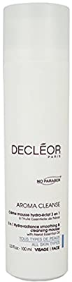 Decleor Aroma Cleanse 3 in 1 Hydra Radiance Smoothing and Cleansing Mouse, 3.3 Fluid Ounce