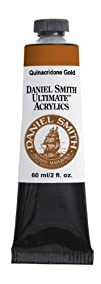 Daniel Smith 60ml Ultimate Acrylic Paint Tube Quinacridone Gold