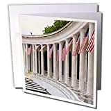 Florene Patriotic - Memorial Day In Arlington National Cemetery - Greeting Cards-12 Greeting Cards with envelopes