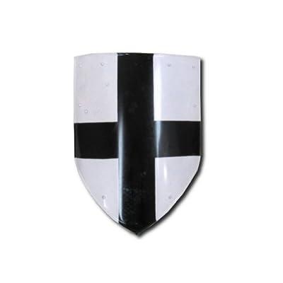 Armor Venue Medieval Cross Shield - Medieval Costume - White - One Size