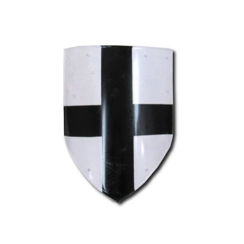 Armor Venue Medieval Cross Shield - Medieval Costume - White - One Size