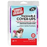 Simple Solution Washable Cover-Ups, Small, Pink/Purple (Pack of 2)