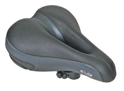 Sunlite Cloud-9 Bicycle Non-Suspension Comfort Saddle, Comfort Select, Tri-color