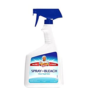 Mr Clean Home Pro With Bleach Spray Cleaner 32 Oz Bathroom Cleaners