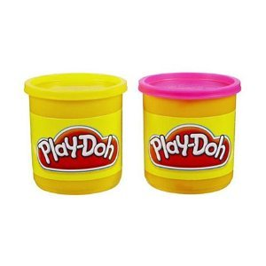 Play-Doh 2 Pack Neon Colors (Yellow/Pink)