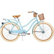 26 Huffy Nel Lusso Ladies Cruiser Bike, Gloss Blue by Huffy