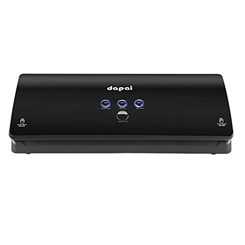 DaPai Automatic Food Vacuum Sealer for food Preservation and Storage,with Vacuum Bags(Black) (Vac Food Storage Bags compare prices)