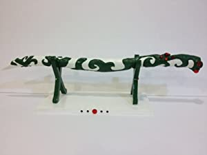 Sailor Moon Rare Alan's Cardian Flute Wand Doom Tree Cosplay Toy with display stand