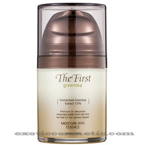 The First Green Tea Natural Facial Moisture Essence Lotion - Fermented Green Tea