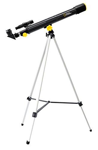 NATIONAL GEOGRAPHIC TELESCOPIO AZ RIFRATTORE 50/600 CON ACCESSORI INCLUSI