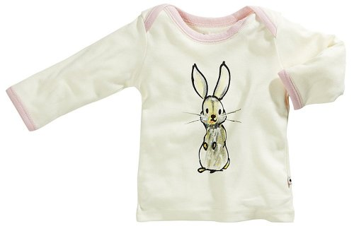 Babysoy Janey Baby Lounge Tee, Bunny, 3 6 Months - 1