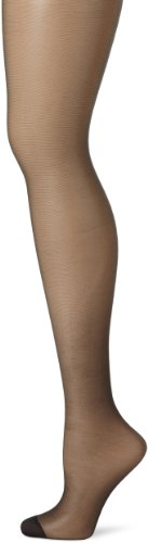 Hanes Silk Reflections Women's Panty Hose,Jet,A/B (Non Control Top Pantyhose compare prices)
