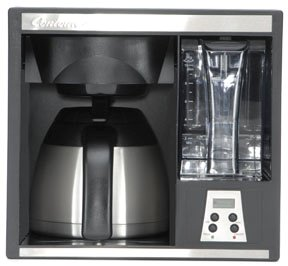 Cuisinart dcc: Built-In Coffee Maker with Permanet Filter Basket black friday deals
