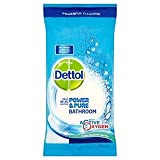 Dettol Power & Pure Bathroom Wipes 72 per pack