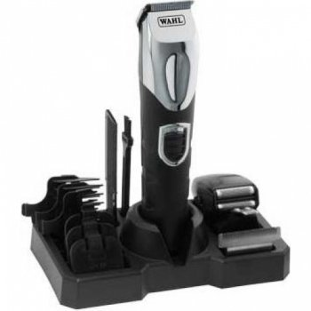 Wahl Lithium Ion Rechargeable Professional Trimmer - Total Grooming Kit 9854-802